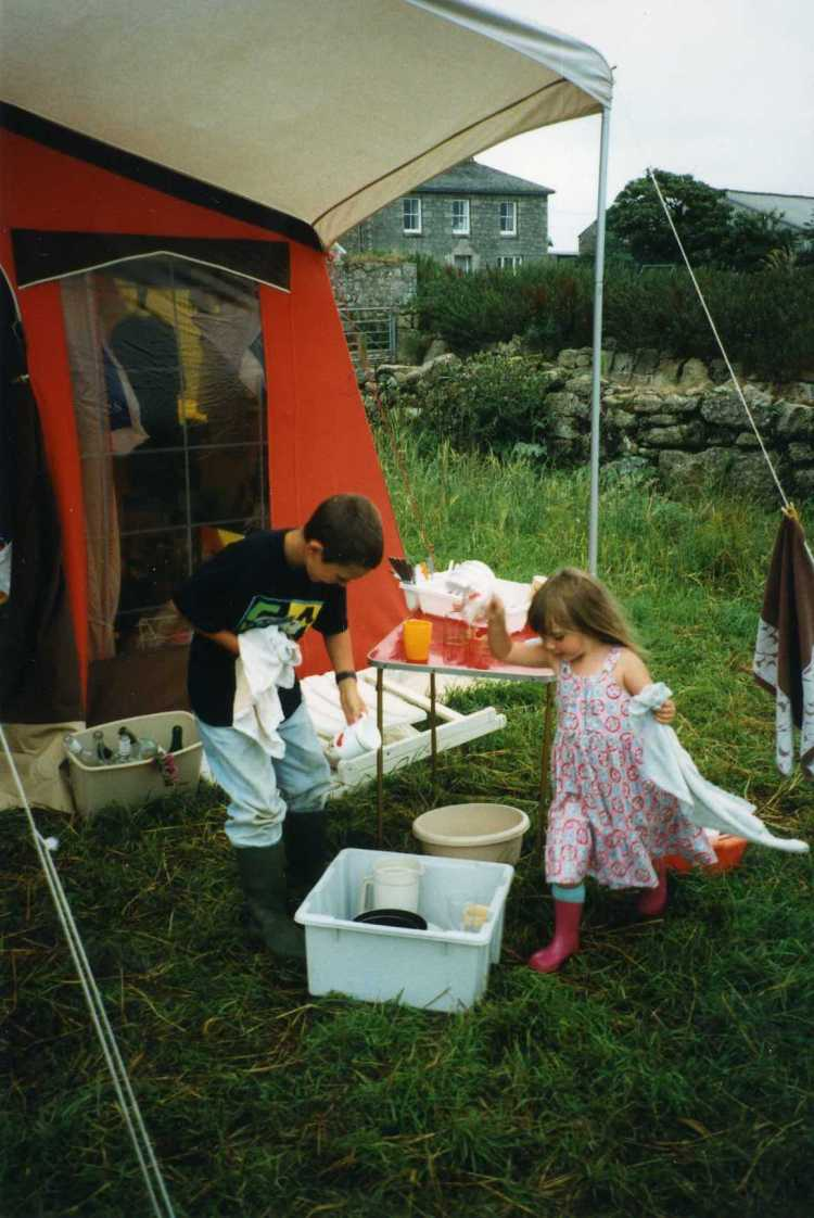 Vikki Hutton caravan summer